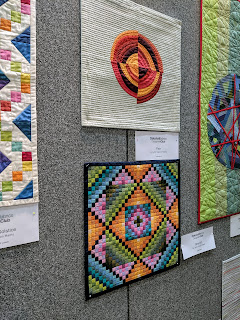 Lynn Carson Harris quilts made with Oakshott fabrics