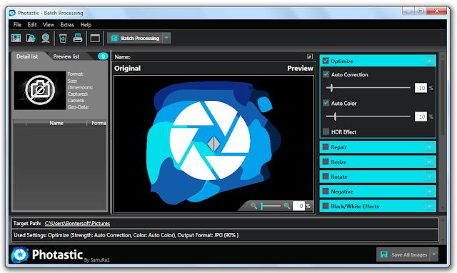 Screenshot Abelssoft Photastic 19.0703 Full Version