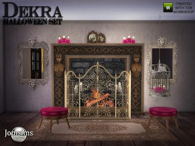 Хэллоуин в Sims 4 - праздничный декор и мебель со ссылками на скачивание