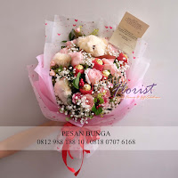 jual bunga jakarta, toko bunga online jakarta, hand bouquet murah, hand bouquet ferrero rocher,