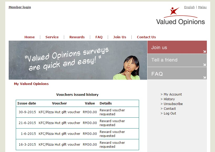 survey online malaysia