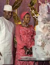 Check Out Wedding Photos Of Ex-Speaker Dimeji Bankole And Kebbi Governor's Daughter (Photos)