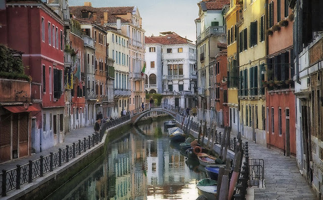 Região de Castello e San Polo em Veneza