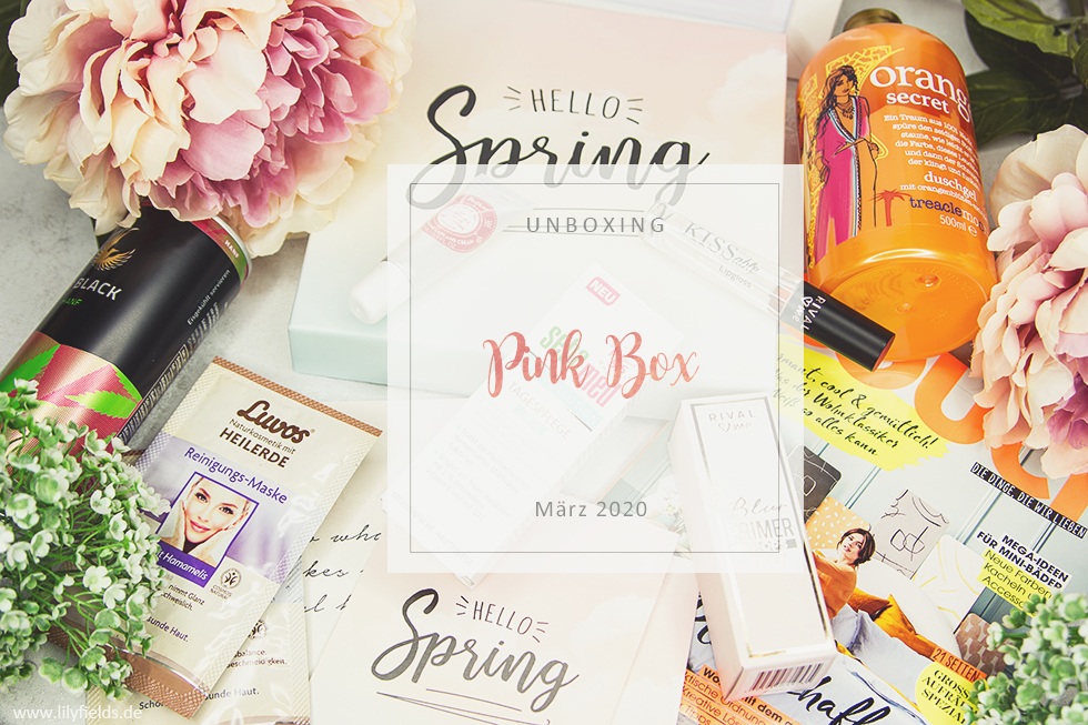Pink Box - Hello Spring März 2020 - unboxing