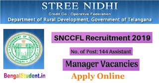 SNCCFL Assistant Managers Recruitment 2019 - Apply Online for 144 Posts of  Managers,  Assistant Managers