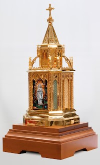A New Reliquary for St. Bernadette by Granda Liturgical Arts