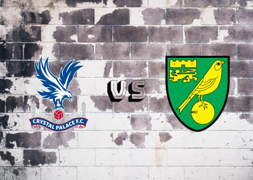 Crystal Palace vs Norwich City  Resumen