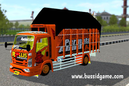 "Mod Truck Isuzu NMR71 125PS ""Rollis"" Bemper JB3 By Souleh Art"