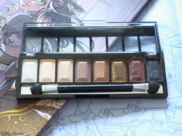 Max and More maquillage palettes fards à paupières