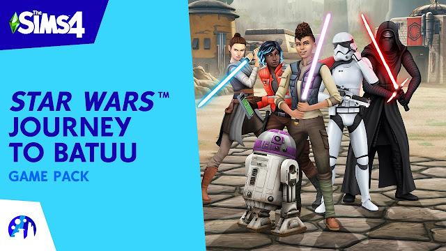 The Sims 4 Star Wars Journey to Batuu تحميل مجانا (تحديث 1.66.139.1020)