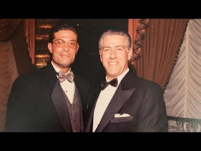 Bill Cutolo Junior, left, Wild Bill Cutolo