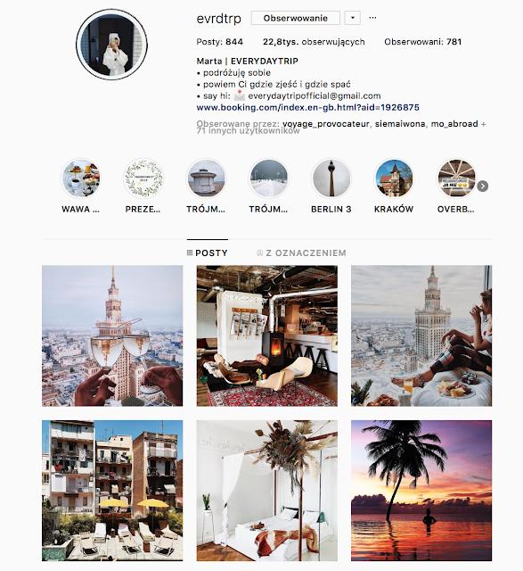 Szukasz podróżniczych inspiracji? Nowych profili podróżniczych na Instagramie, które mógłbyś obserwować? Oto moje podróżnicze inspiracje 2019!