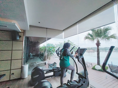 Gym Marriott Hotel