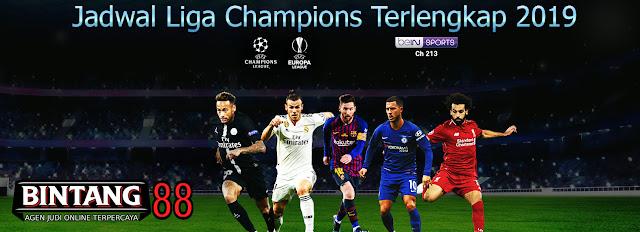 Jadwal Liga Champions Terlengkap 2019