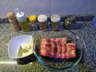 Costillar de cerdo al horno