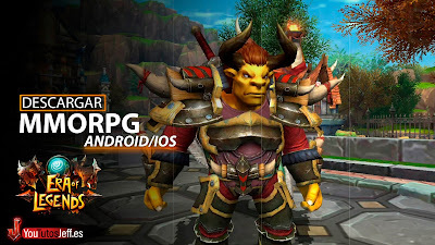 Revolución MMORPG, Descargar Era Of Legends para Android o iOS