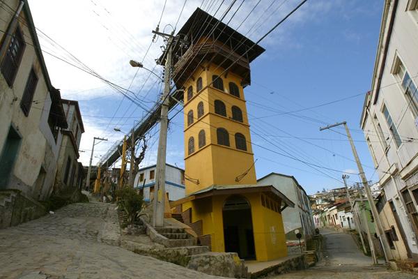 Lua de mel em Valparaíso