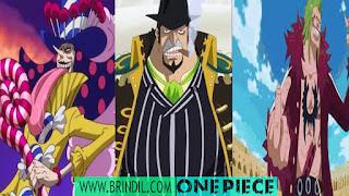 5 Karakter Tameng Terkuat di One Piece Bikin Lawan Kewalahan