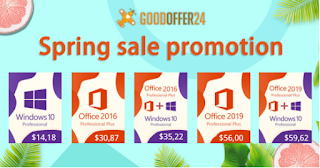 Goodoffer24 Spring sale windows 10 pro OEM key تحت 14 دولارًا أمريكيًا