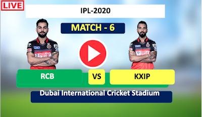 IPL 2020: Punjab vs Bangalore, 6th Match, KXIP is batting first