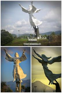 Sejarah pembuatan patung yesus memberkati