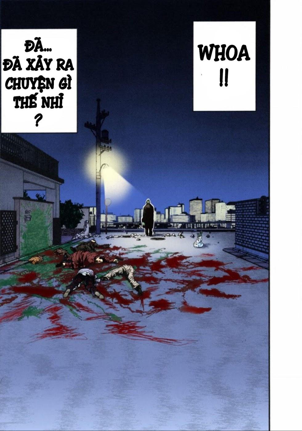 Gantz Chap 13: Đôi mắt trang 5