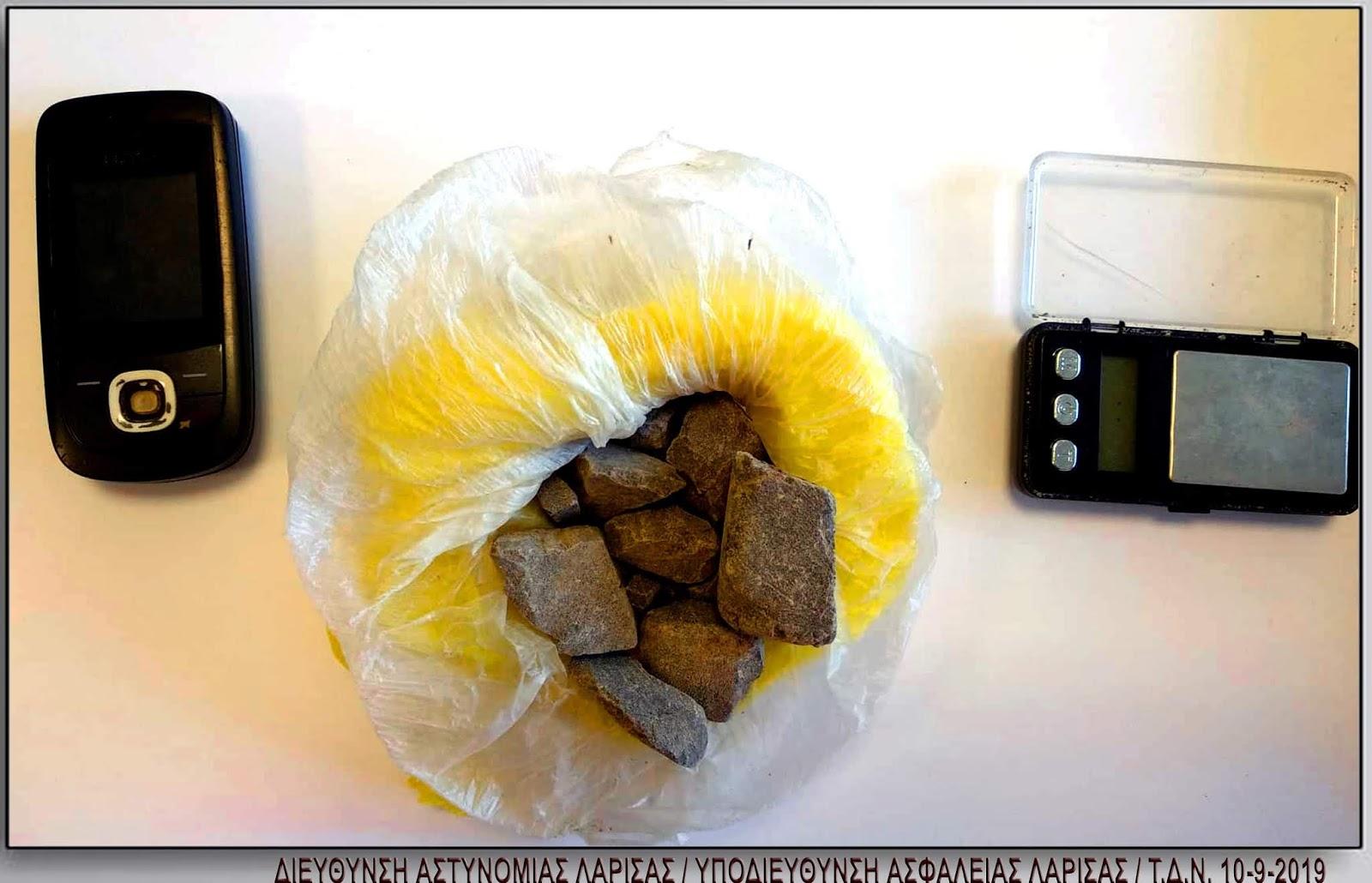 Συνελήφθη 30χρονος στον Τύρναβο για διακίνηση ναρκωτικών