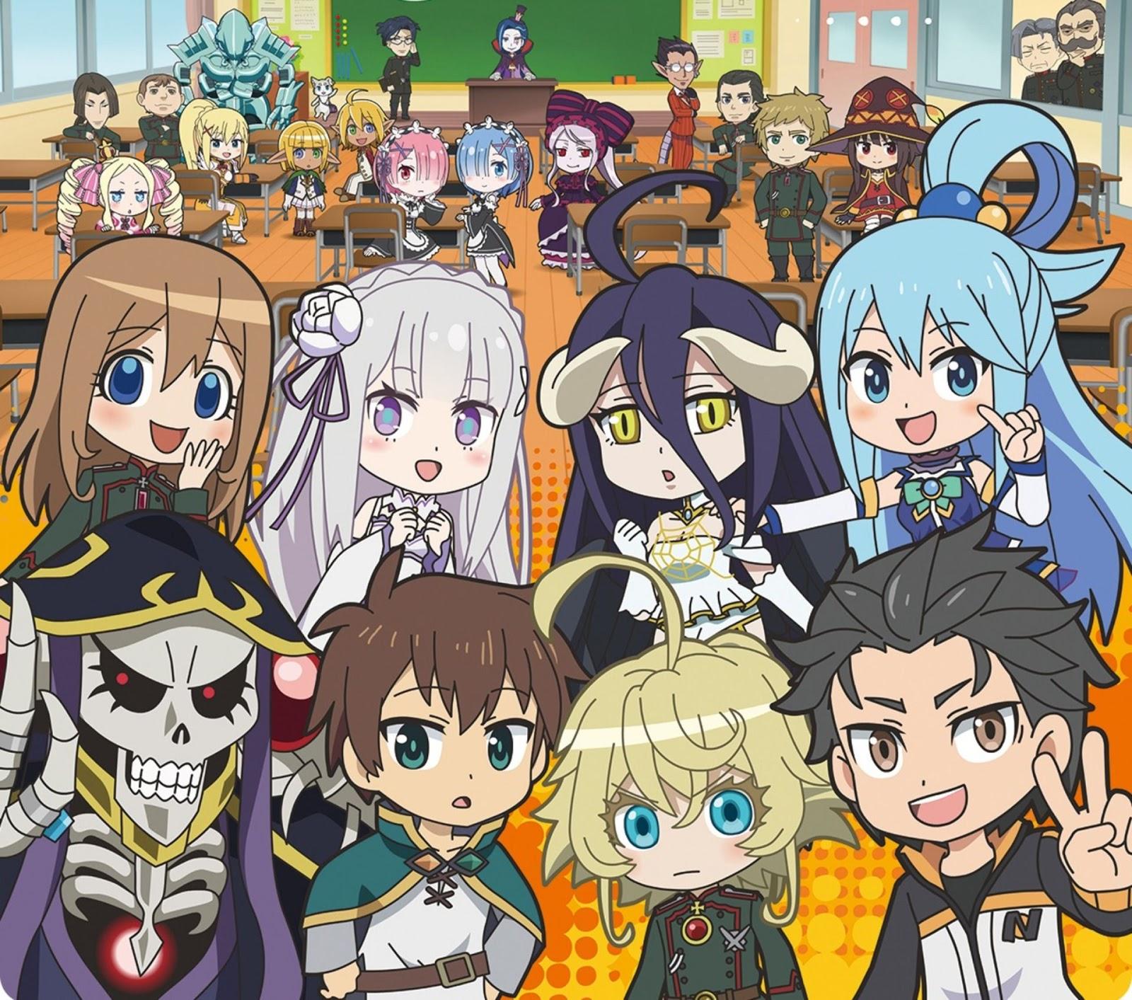 Xem Anime Thức tỉnh ở thế giới khác Phần 2 -Isekai Quartet SS2 -  VietSub