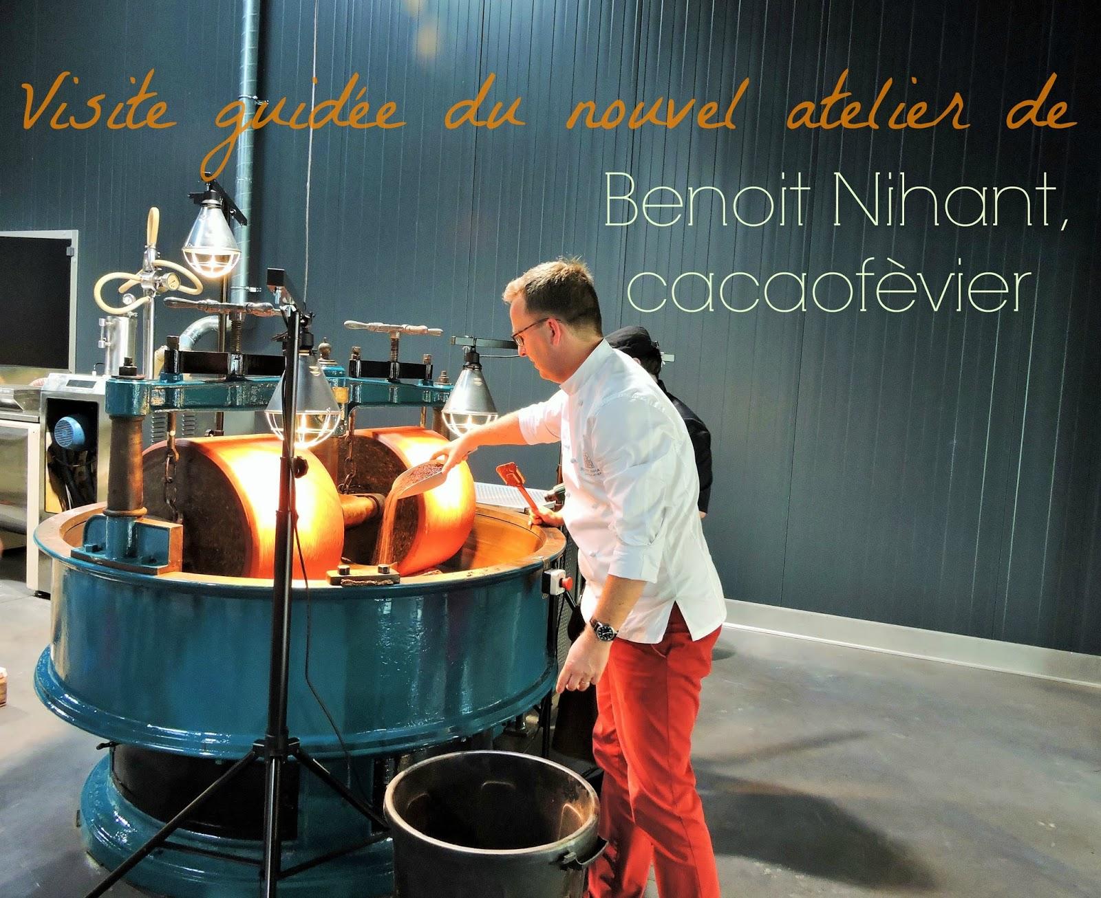 Vendredi dernier, j ai eu la grande chance d être invitée à venir découvrir  le nouvel atelier du chocolatier Benoit Nihant. 6c50e670fd7