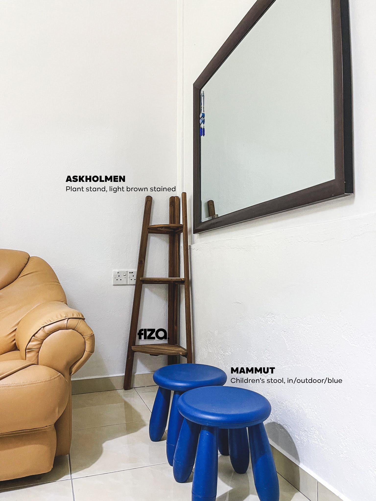 Minimalist Dekorasi perabot IKEA