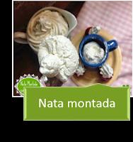 NATA MONTADA CON THERMOMIX