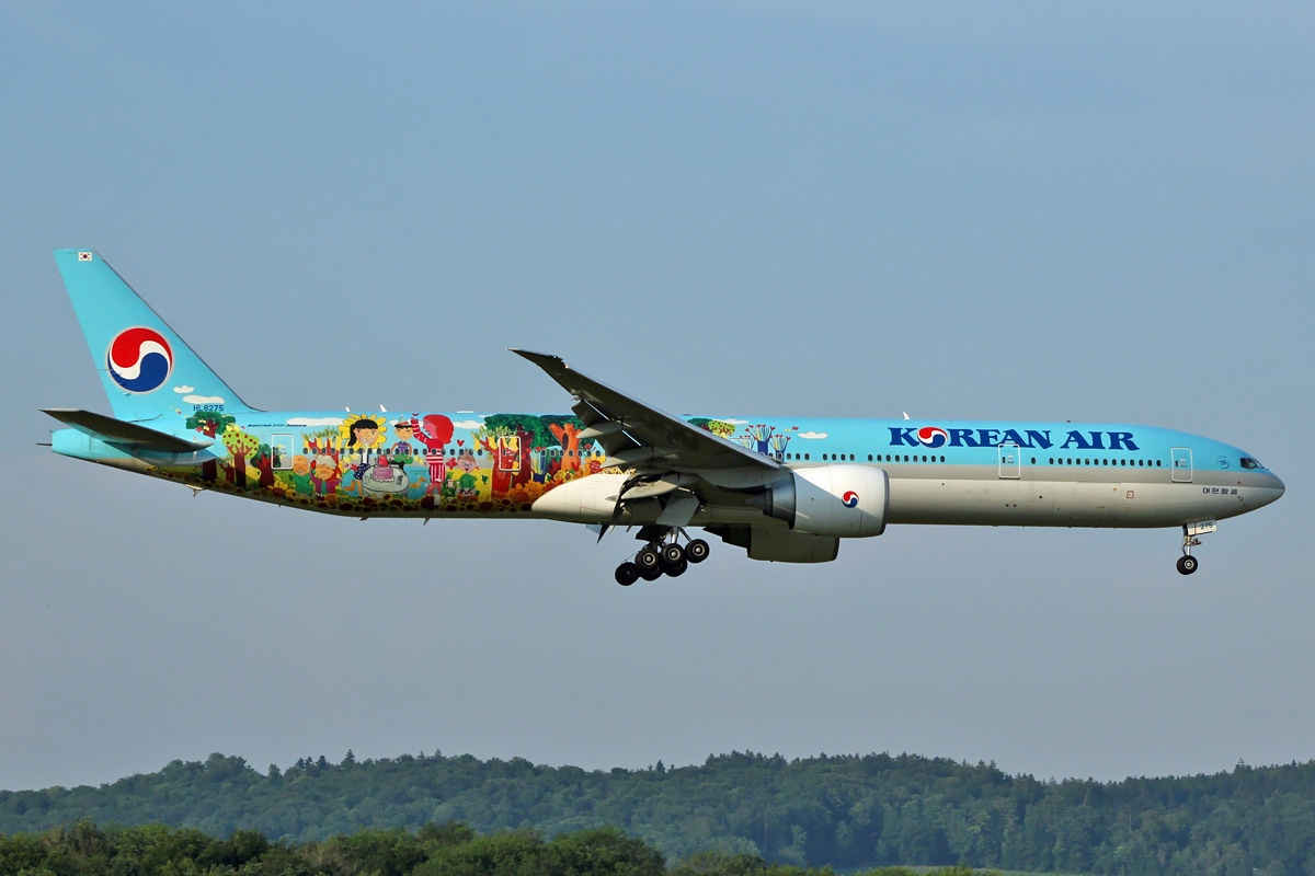 Drawing Lines With Photo Cs : Eastwings b er korean air lines children s drawing
