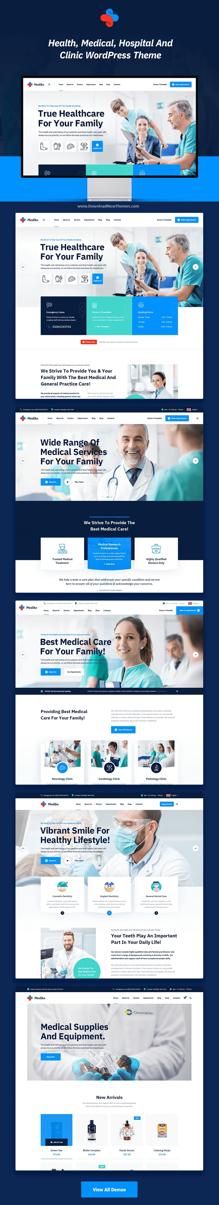 Health & Medical Premium WordPress Theme