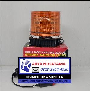 Jual Lampu Blitz Kuning 12-24V Colok Rokok di Bandung