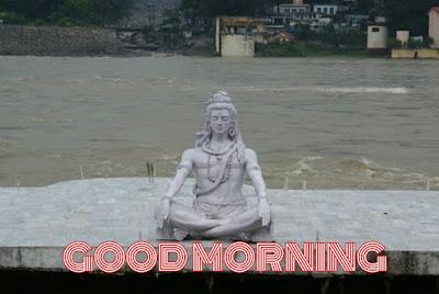 good morning with hindu god image