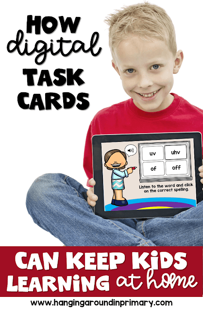 Distance learning has become the new norm for teaching right now during the pandemic.  Use digital task cards or boom cards to have students practice important skills. Boom cards are fun for students and provide informative reports for teachers.