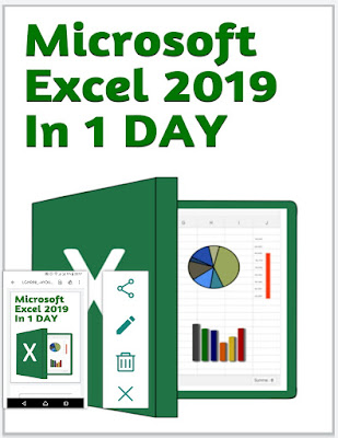 Microsoft Excel 2019 In 1 DAY: for beginners