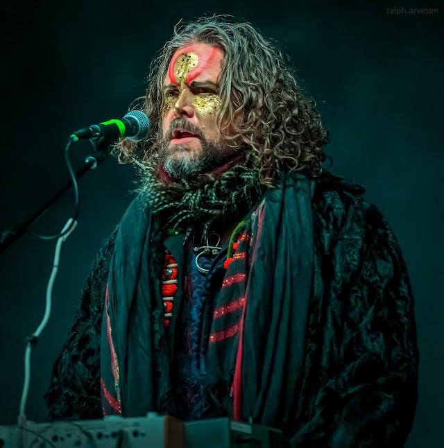 Golden Dawn Arkestra performing at Love & Lightstream in Cedar Park, Texas