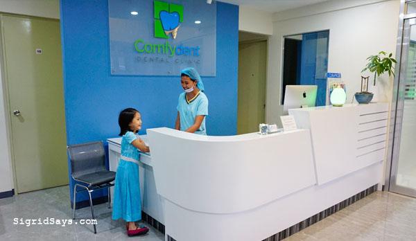 Bacolod dentists for kids - Bacolod dental clinic - Bacolod blogger - Dr. Dianne Margaret Lim-Militante - Dr. Eltton Lim - Dr. Gelo Militante - sisters - Comfydent Dental - Bacolod City - Bacolod dentist for kids - oral surgery in bacolod - Bacolod dental surgeon - Bacolod general dentistry - reception