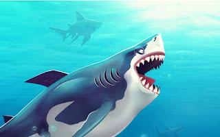 تحميل لعبة القرش جوعان Hungry Shark World نقود لاتنتهي للاندرويد