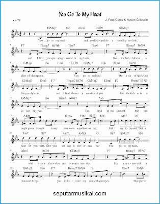 you go to my head 1 lagu jazz standar