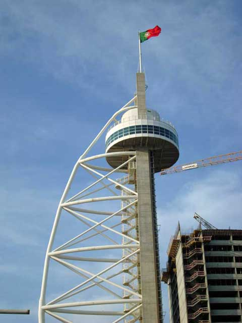 The total height of the structure is 145 meters