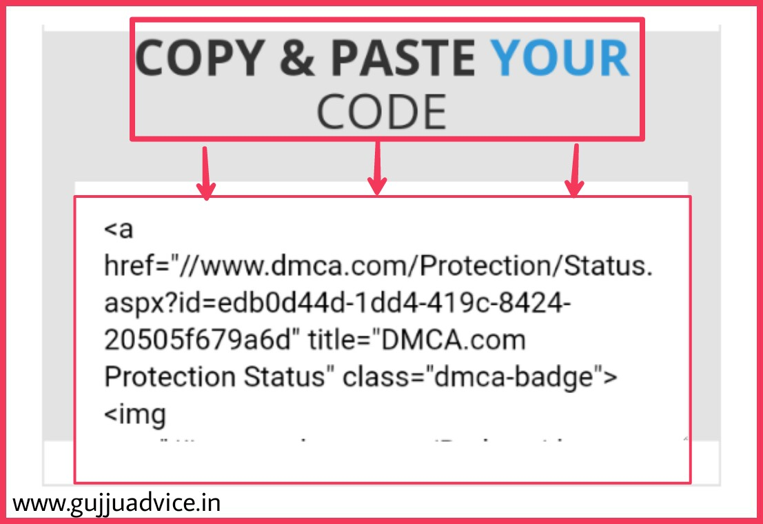 HOW TO IMPLEMENT DMCA IN BLOG OR WEBSITE
