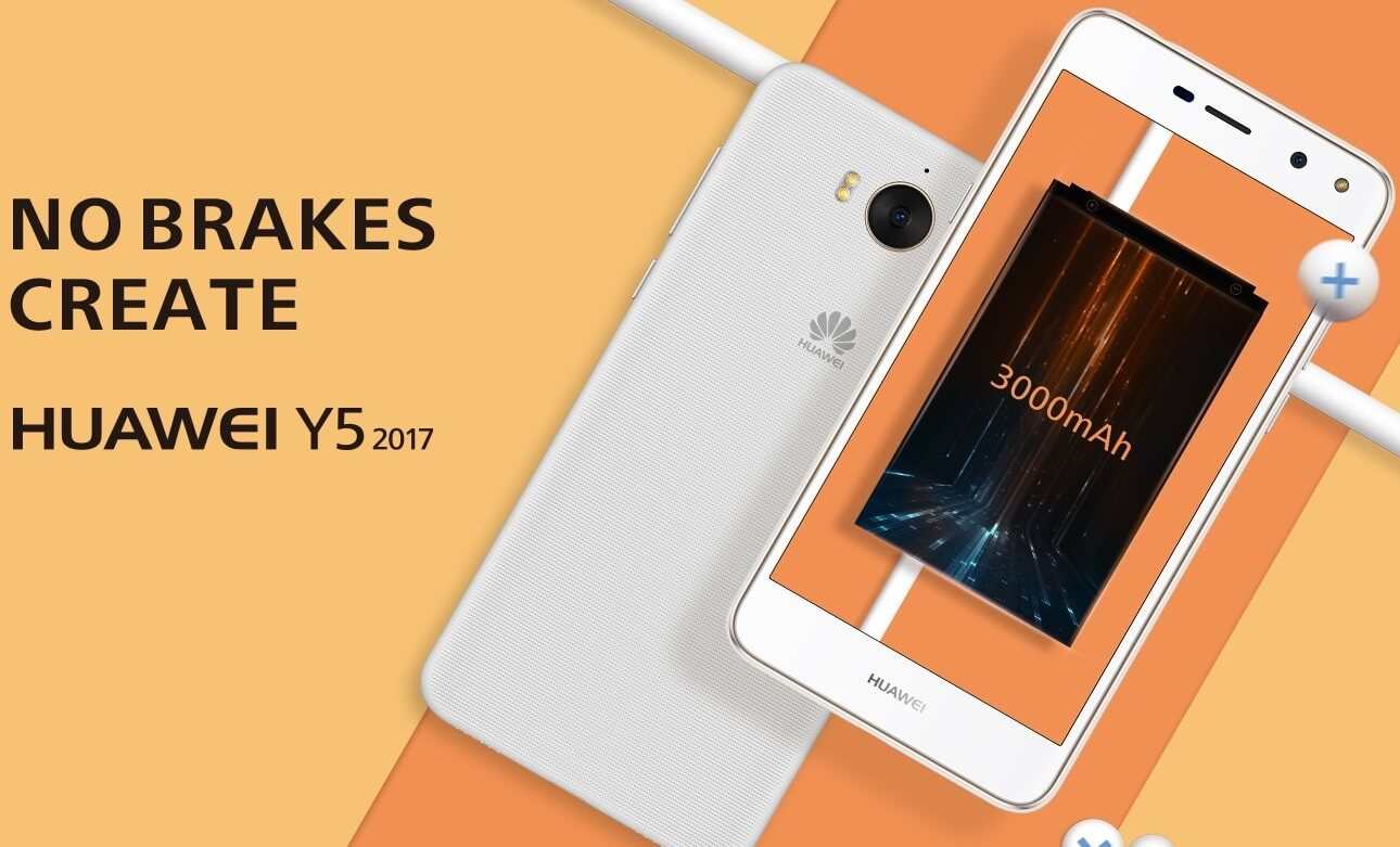 Huawei Y5 2017 Now Available at Globe The Plan 599