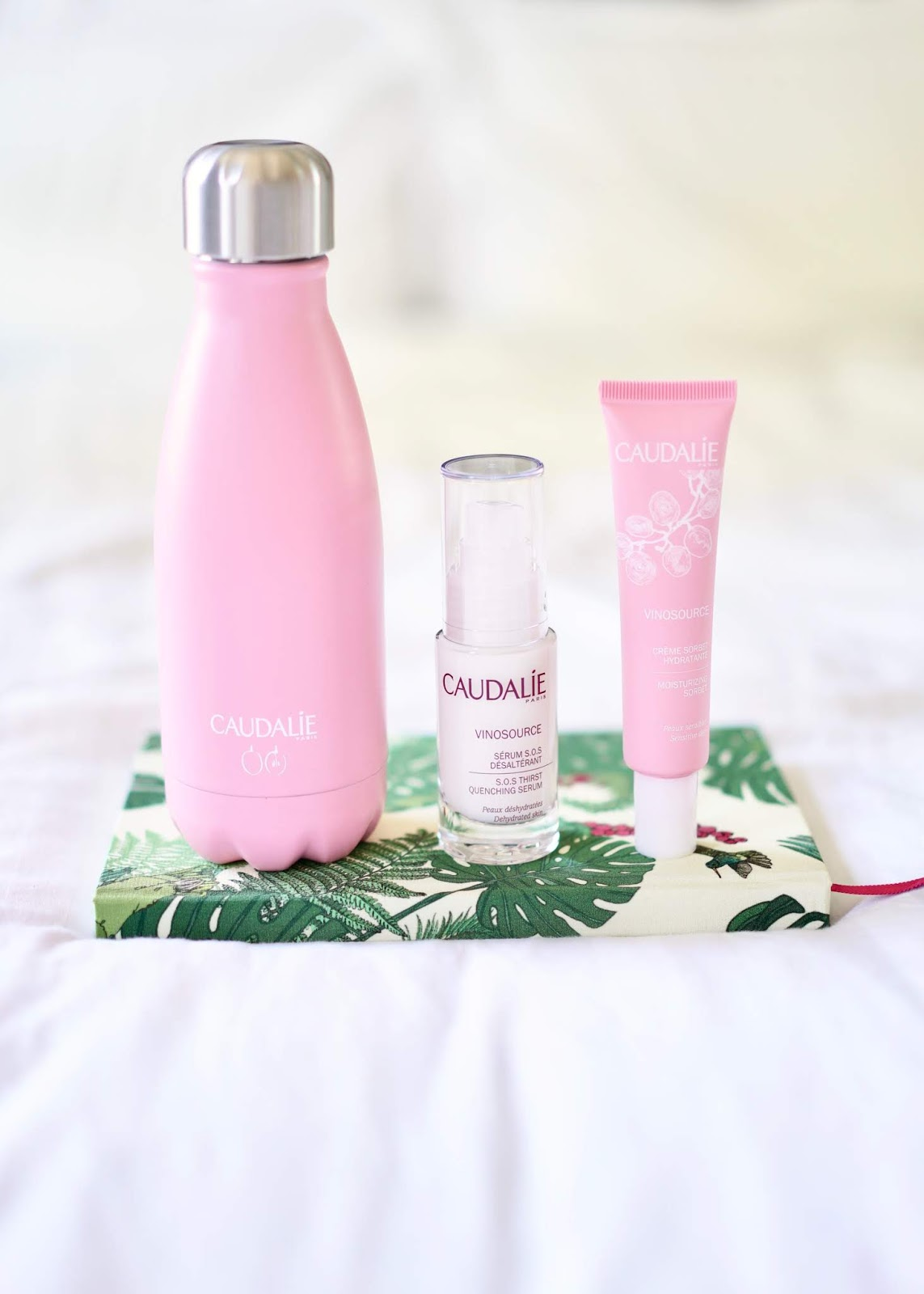 FREE ECO WATER BOTTLE OFFER FROM CAUDALIE