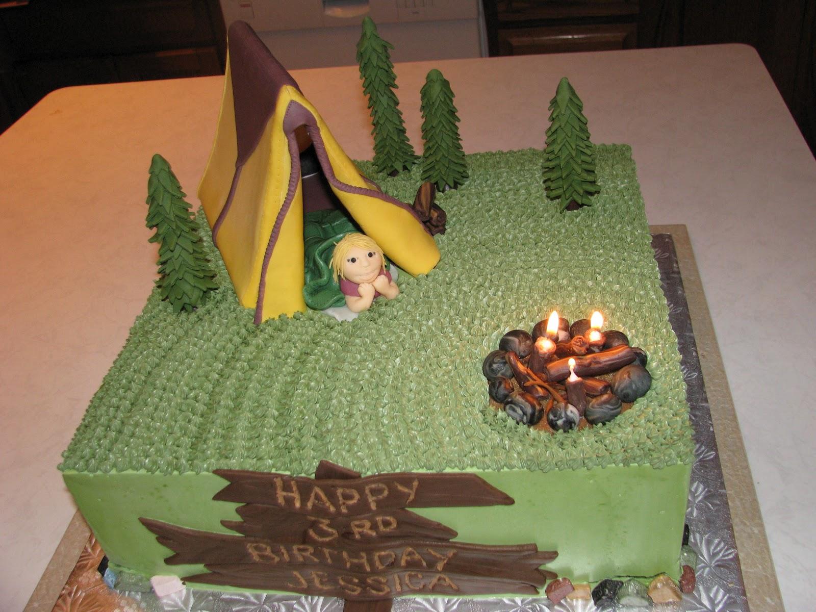 Birthday Cake Presentation Ideas