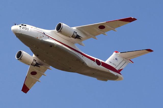 Gambar 34. Foto Pesawat Angkut Militer Kawasaki C-2