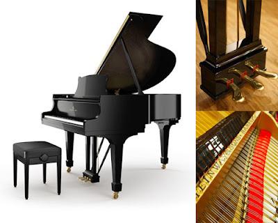 Đàn Piano Steinway & Sons M