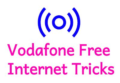 3+ Vodafone फ्री इंटरनेट ट्रिक्स - फ्री डाटा ट्रिक्स