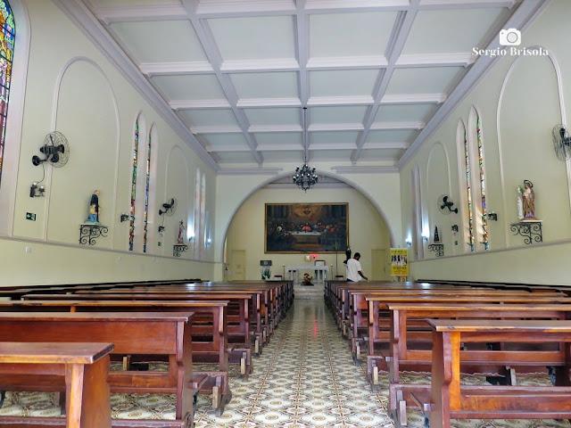 Vista do interior da Paróquia Santa Rita de Cássia - Vila Mariana - São Paulo